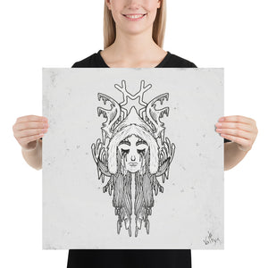 Product image for Face of Skadi Poster
