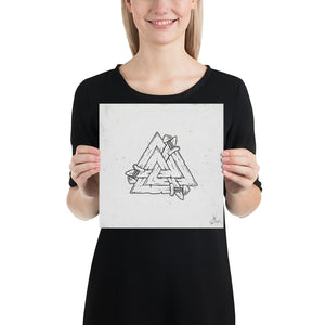 Product image for Sword of Valknut Poster
