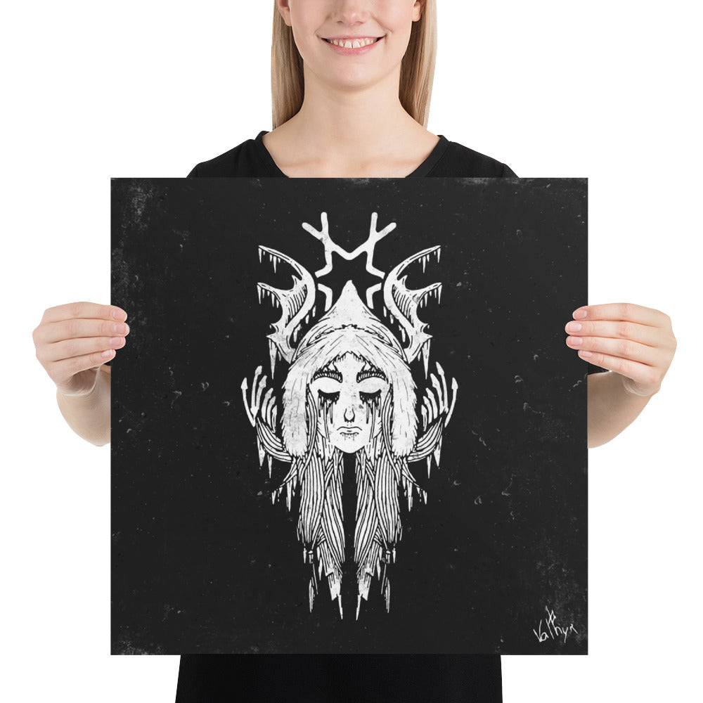Face of Skadi Poster