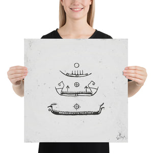 Product image for Longship Evolution Poster