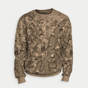 Product image for Royal Brown Fjorgyn Sweatshirt