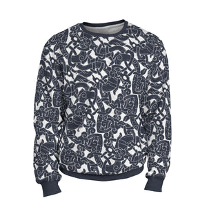 Product image for Jelling Wolf Pattern Sweatshirt