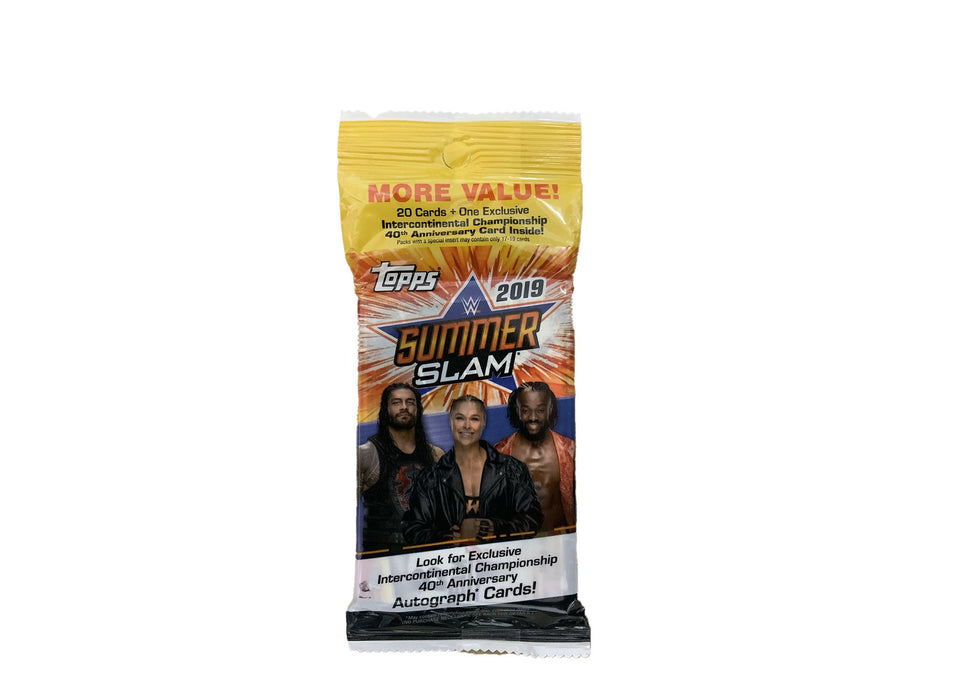 2019 Topps WWE SummerSlam Fat Pack