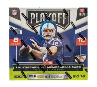 2016 Panini Playoff Football Hobby Box - Sports Trading Cards UK