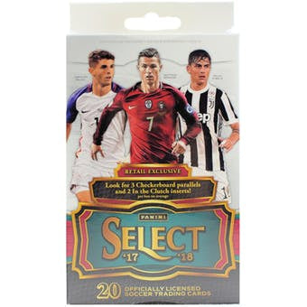 2017/18 Panini Select Soccer 20ct Retail Box - Sports Trading Cards UK