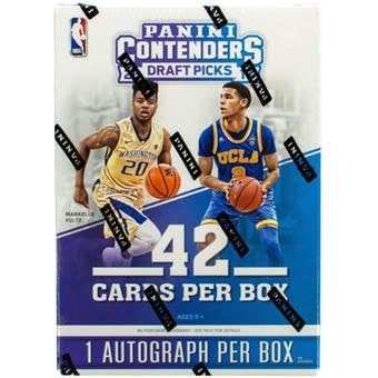 2017/18 Panini Contenders Draft Basketball 7-Pack Blaster Box - Sports Trading Cards UK