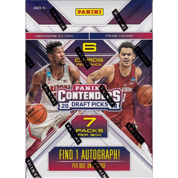 2018 Panini Contenders Draft Picks Collegiate Basketball Blaster - Sports Trading Cards UK