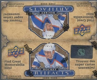 2008-09 Upper Deck Artifacts Hockey 24ct Retail Box - Sports Trading Cards UK