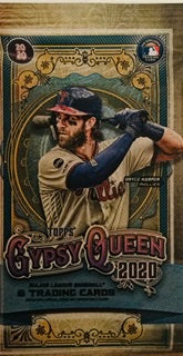 2020 Topps Gypsy Queen Baseball Retail Pack - Sports Trading Cards UK