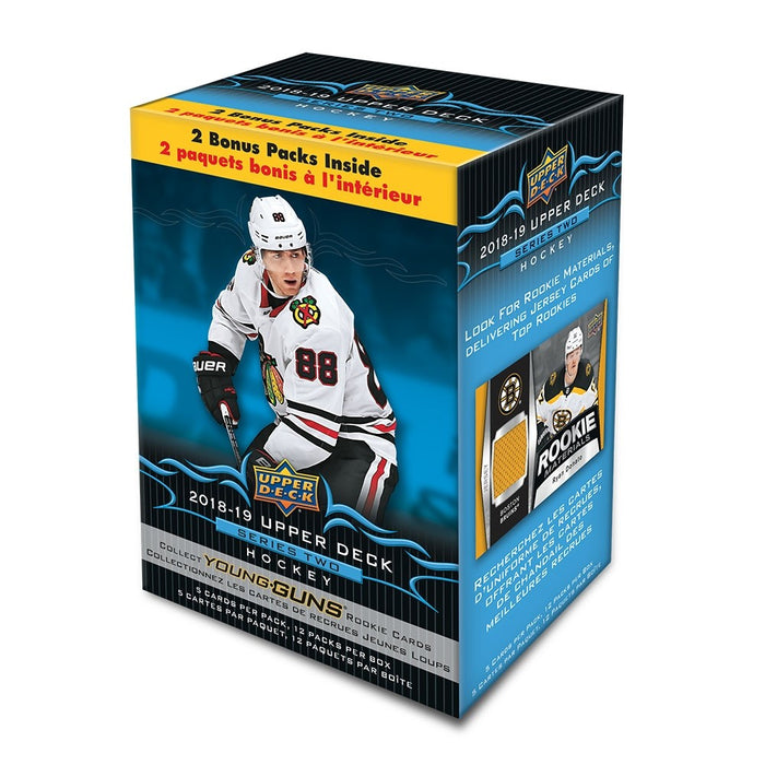 2018/19 Upper Deck Series 2 Hockey Blaster Box - Sports Trading Cards UK