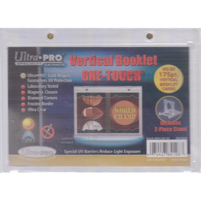 Ultra Pro One Touch Vertical Booklet Magnetic 175pt Holder - Sports Trading Cards UK