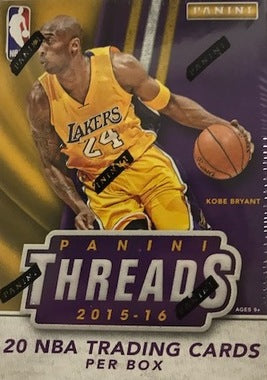 2015-16 Panini Threads Basketball Blaster Box - Sports Trading Cards UK