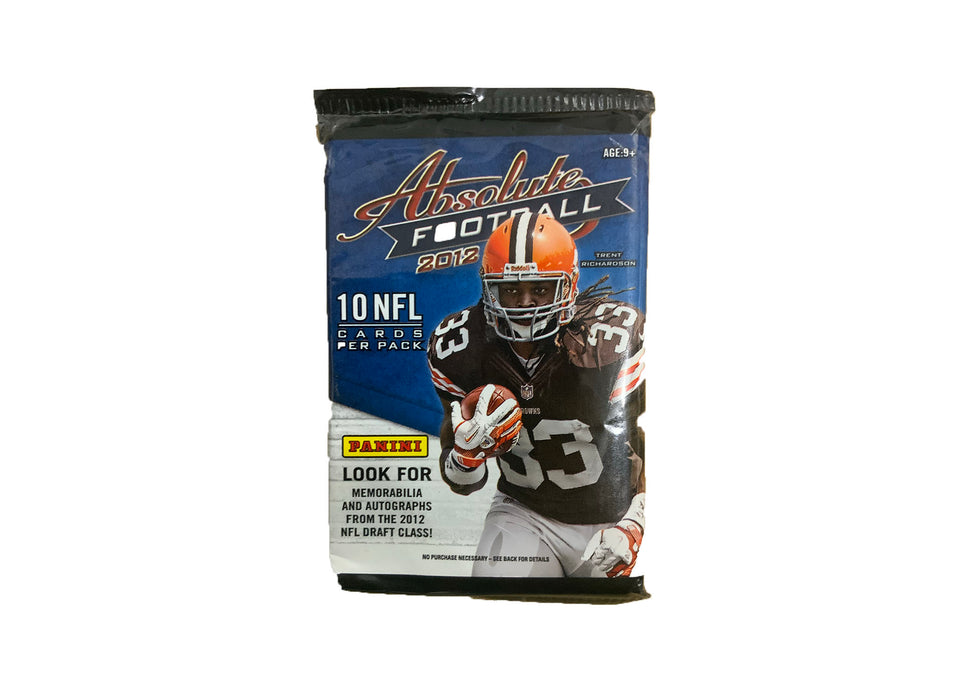 2012 Panini Absolute Football Retail Pack