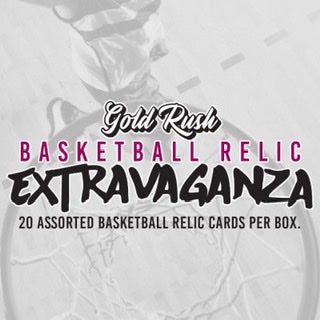 Gold Rush Extravaganza Basketball Relic Box - Sports Trading Cards UK