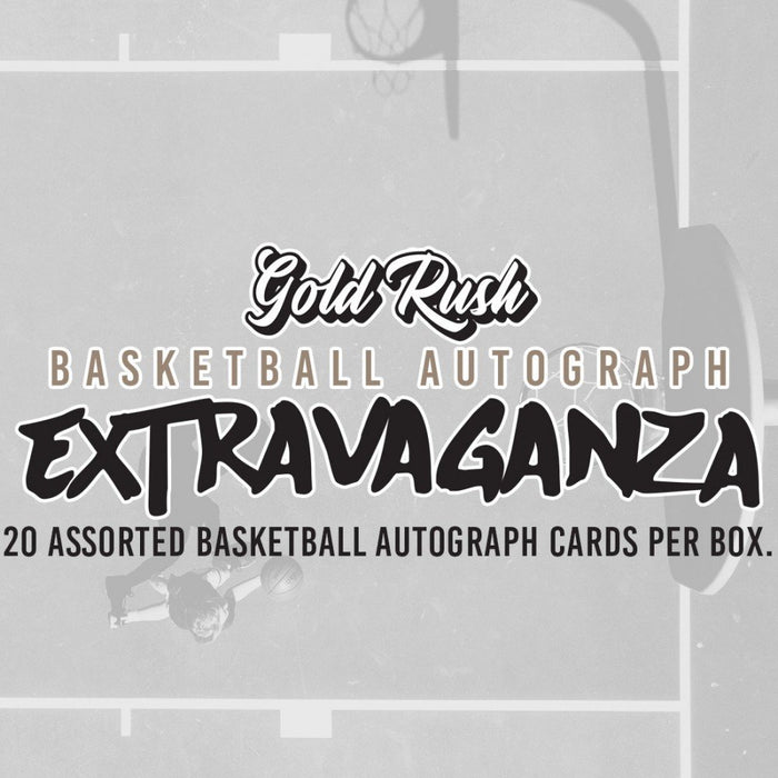 Gold Rush Extravaganza Basketball Autograph Box - Sports Trading Cards UK