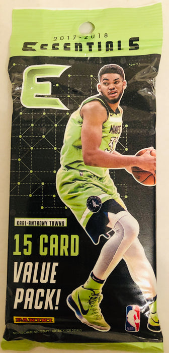 2017/18 Panini Essentials Basketball Jumbo Pack - Sports Trading Cards UK