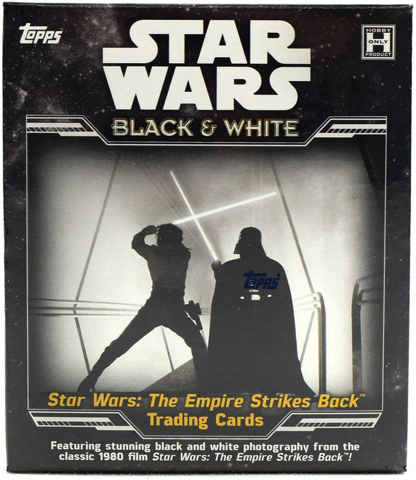 Star Wars: The Empire Strikes Back Black & White Hobby Box - Sports Trading Cards UK