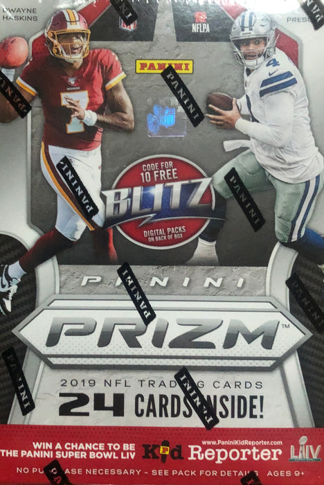 2019 Panini Prizm Football Blaster Box - Sports Trading Cards UK