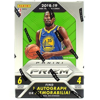 2018/19 Panini Prizm Basketball 6-Pack Blaster Box - Sports Trading Cards UK