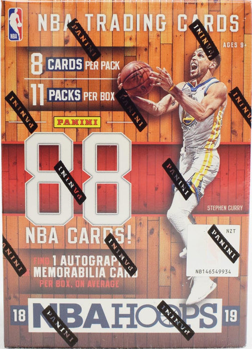 2018/19 Panini Hoops Basketball Blaster Box - Sports Trading Cards UK