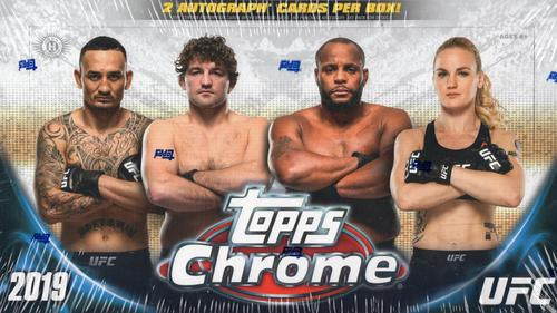 2019 Topps UFC Chrome Hobby Box - Sports Trading Cards UK