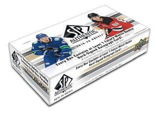 2019-20 Upper Deck SP Authentic Hockey Hobby Box - Sports Trading Cards UK