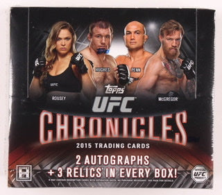2015 Topps UFC Chronicles Hobby Box - Sports Trading Cards UK