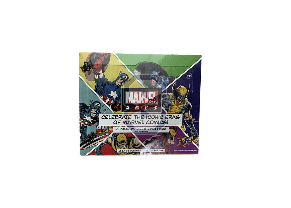 2020 Upper Deck Marvel Ages Trading Cards Hobby Box