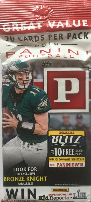 2018 Panini Football Fat Pack - Sports Trading Cards UK
