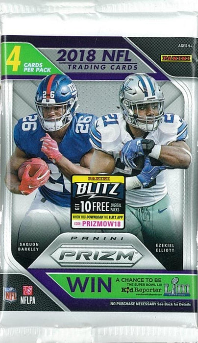 2018 Panini Prizm Football Retail Pack - Sports Trading Cards UK