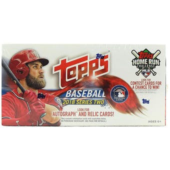 2018 Topps Series 2 Baseball 24-Pack Box - Sports Trading Cards UK