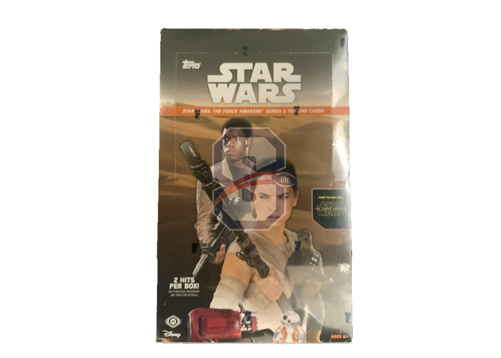 Topps Star Wars The Force Awakens Ser 2 Hobby Box
