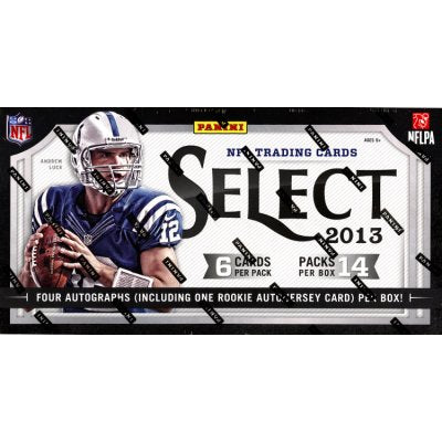 2013 Panini Select Football Hobby Box - Sports Trading Cards UK