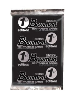 2020 Bowman 1st Edition Baseball Pack - Sports Trading Cards UK