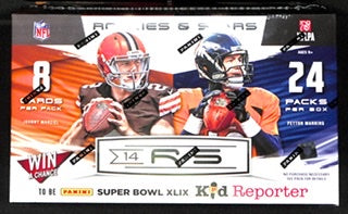 2014 Panini Rookies & Stars Football Hobby Box - Sports Trading Cards UK