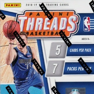 2018/19 Panini Threads Basketball Blaster Box - Sports Trading Cards UK