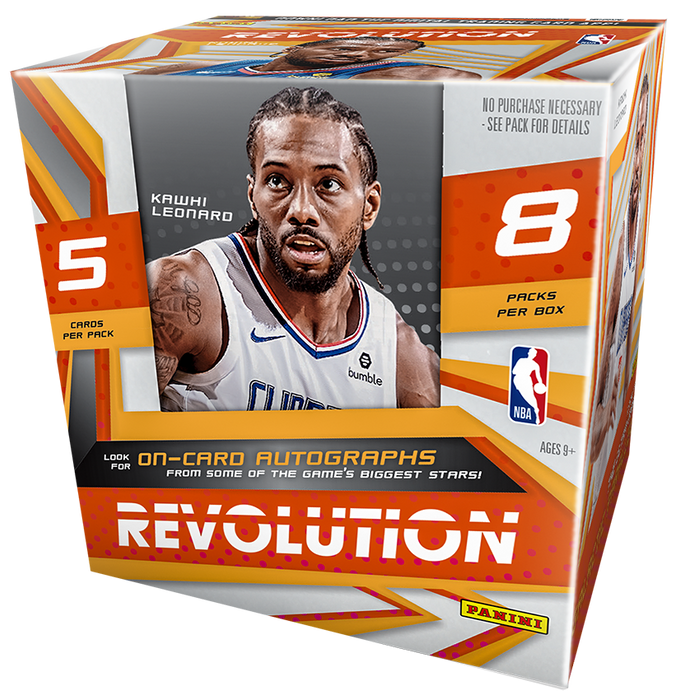 2019-20 Panini Revolution Basketball Hobby Box - Sports Trading Cards UK