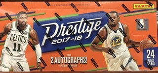 2017/18 Panini Prestige Basketball Hobby Box - Sports Trading Cards UK