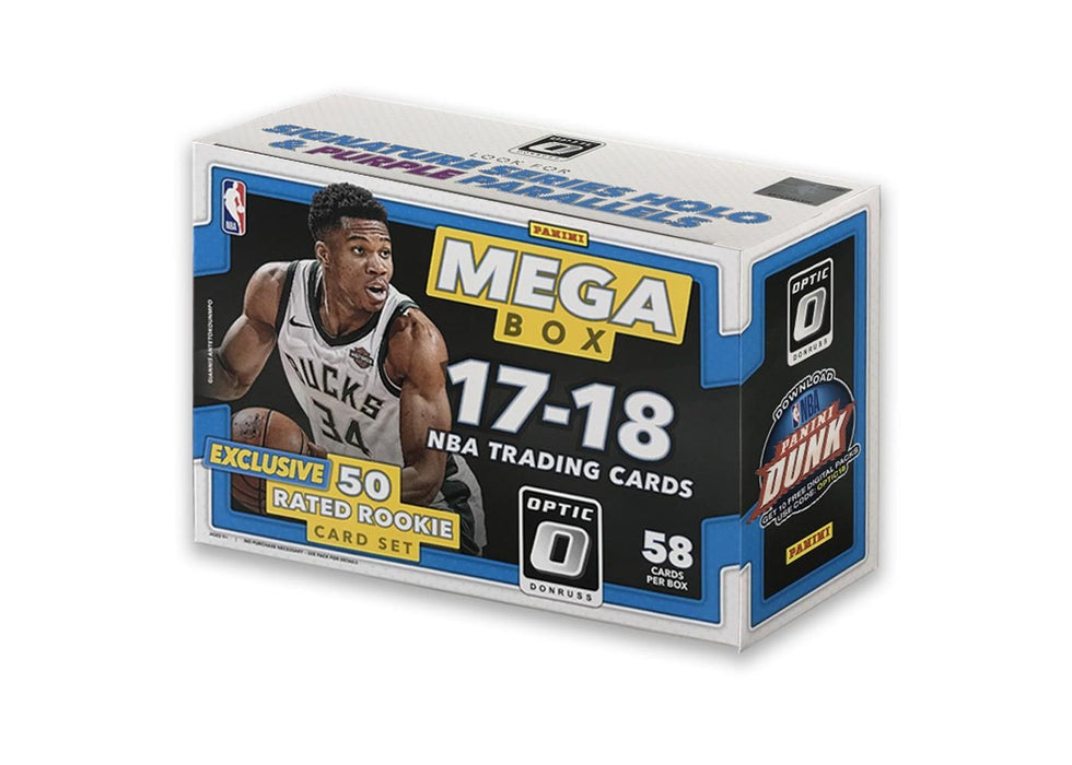 2017-18 Panini Donruss Optic Basketball Mega Box - Exclusive  Rookie set - Sports Trading Cards UK
