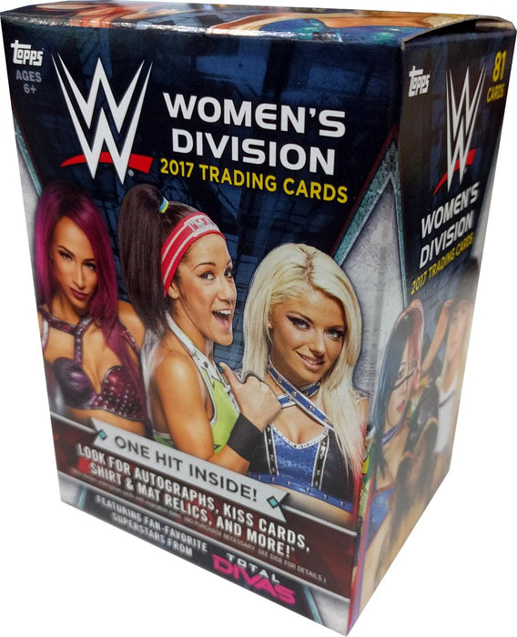 2017 Topps WWE Women's Division Blaster Box - Sports Trading Cards UK