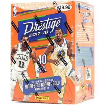 2017/18 Panini Prestige Basketball Blaster Box - Sports Trading Cards UK