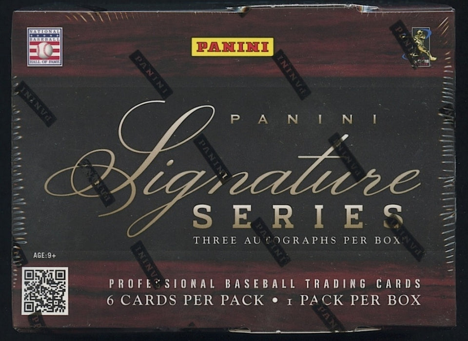 2012 Panini Signature Series Baseball Hobby Box - Sports Trading Cards UK