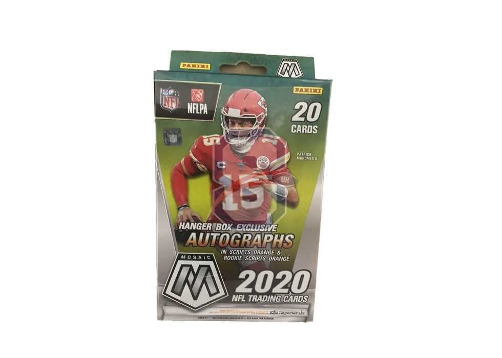 2020 Panini Mosaic Football Hanger Box - Walmart Version