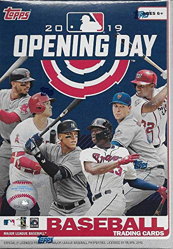 2019 Topps Opening Day Baseball 11ct Blaster Box - Sports Trading Cards UK