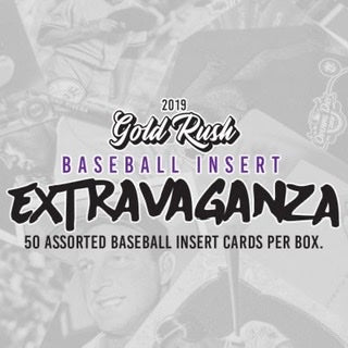 2019 Gold Rush Extravaganza Baseball Inserts Box - Sports Trading Cards UK