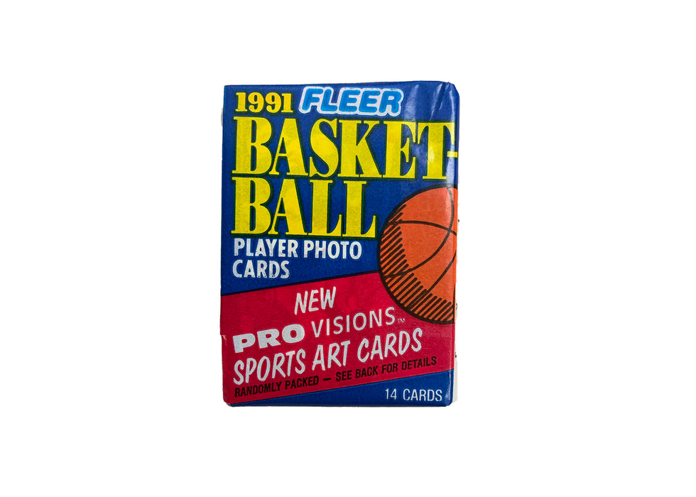 1991/92 Fleer Basketball Series 1 Wax Pack