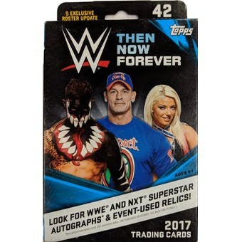2017 Topps WWE Then Now Forever Hanger Box - Sports Trading Cards UK