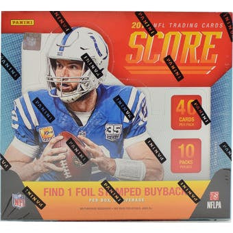 2019 Panini Score Hobby Football Box - Sports Trading Cards UK