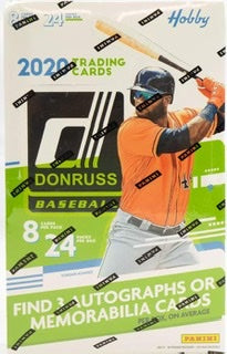 2020 Panini Donruss Baseball Hobby Box - Sports Trading Cards UK