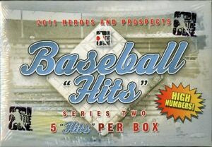 2011 ITG H/P Hits Series 2 High Number Update Baseball Box - Sports Trading Cards UK